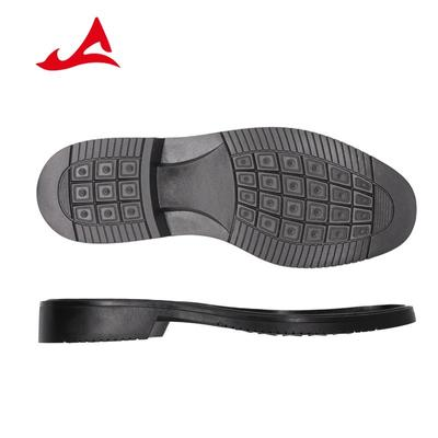 Black Rubber Sole for Men Trade Business Shoes for Leather Shoes XH2702