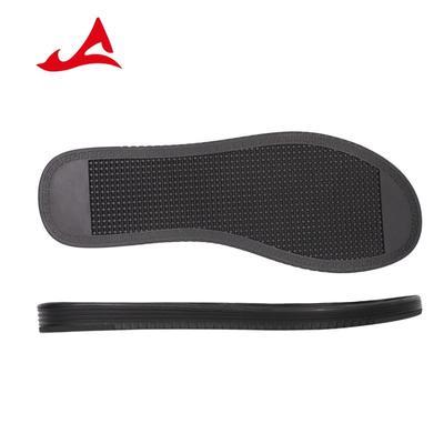 High Elasticity Black Rubber Sole for Men Beach Shoes & Flip Flops XH3021
