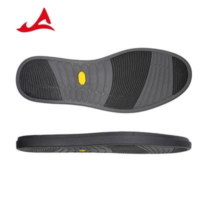 Dark Blue/Yellow Anti-Slip Wear-Resistant Rubber Soles for Male Leather Shoes XH1998
